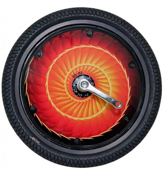 QU-AX Wheel Cover Feuer