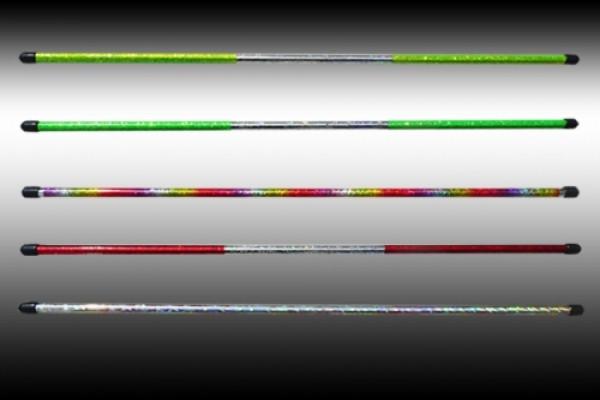Levistick glitzer grün-silber
