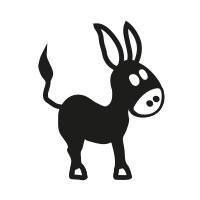 Ministempel Esel