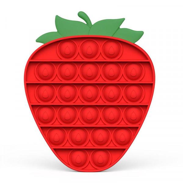 Push Pop Bubble - Erdbeere