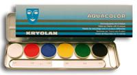 Aquacolor 6er-Palette Blech