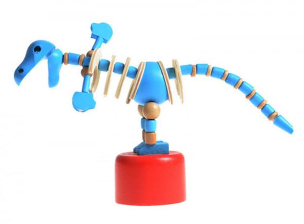 Drücktier - Dino aus Holz (Preis pro Stk)