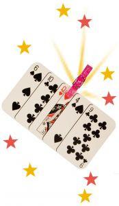 Such die Dame - Karten-Zaubertrick
