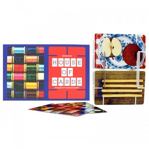 House of Cards Medium, Zusammensteck-Karten