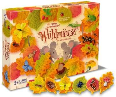 Wühlmäuse - Das wilde Blätterspiel