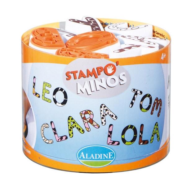 Stampo Minos - Das Stempel Alphabet - Buchstaben Stempel