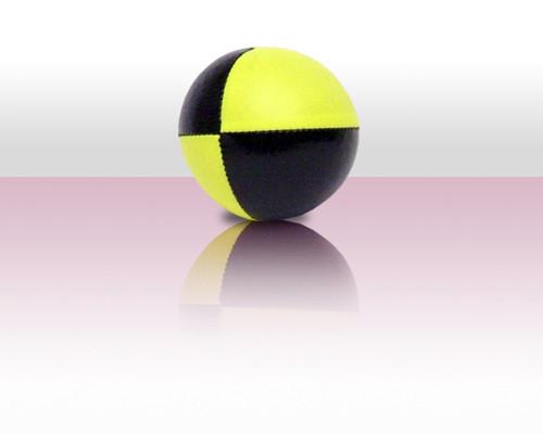 Jonglierball Beanbag 110g - gelb mit schwarz