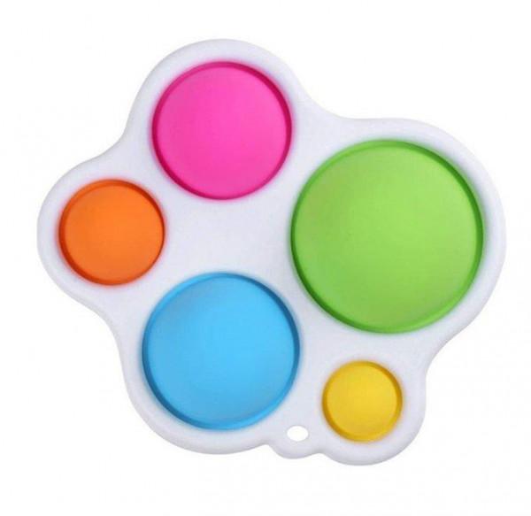 Simple-Dimple Fidget Toy mit 5 Kissen