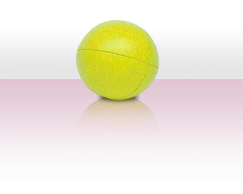 Jonglierball Beanbag Kunstleder - gelb uni