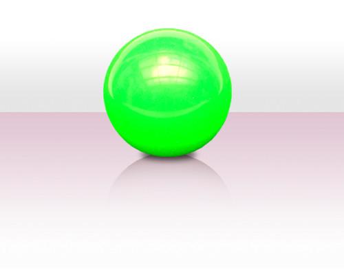 Stageball 72mm grün