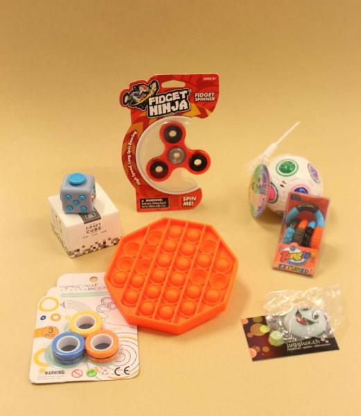 Jugglux Geschenk-Set mit Fidget Toys