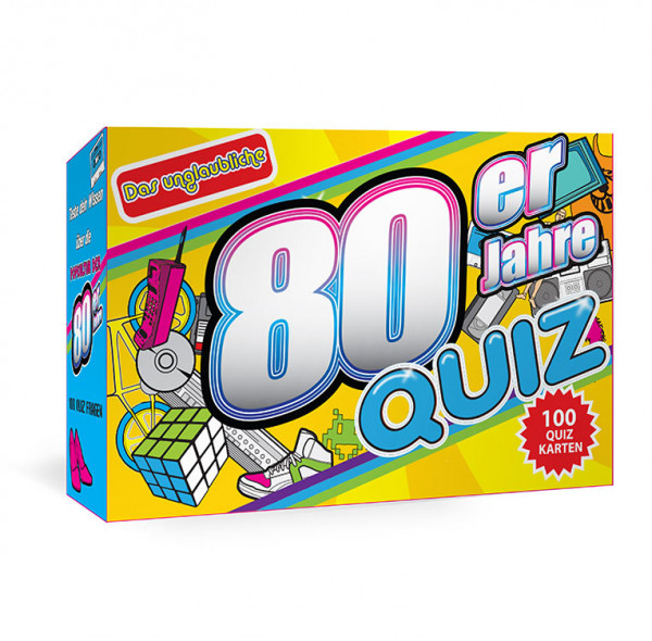 Das 80er Jahre Quiz - Trivia Cards 80er Jahre Trivia