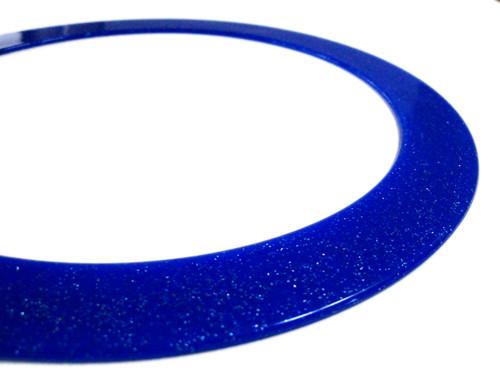 Glitterring - der Glitzerige - blau