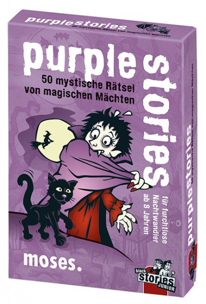 Purple Stories Rätselkarten - leuchten im Dunkeln