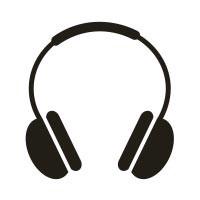 Ministempel Kopfhörer