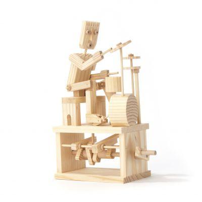 Holz-Bausatz - Timberkits Schlagzeuger