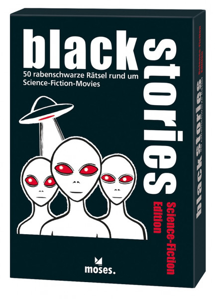 Black Stories - Science Fiction Edition