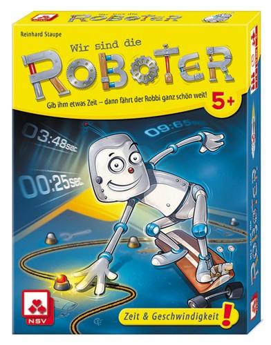 Wir sind die Roboter - Nominiert zum Kinderspiel des Jahres 2020