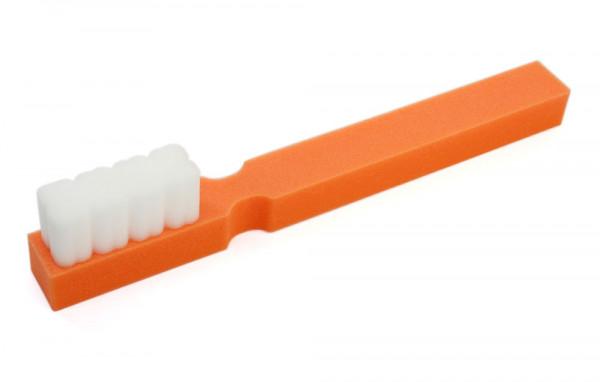 Riesige Schaumstoff Zahnbürste - orange