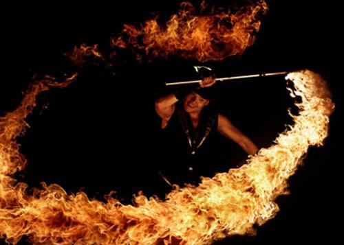 Vul-Cane - Der Stab der Feuerspucken kann