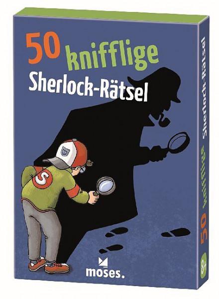 50 knifflige Sherlock Rätsel