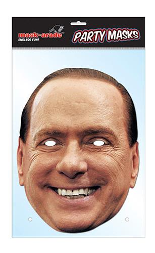 Silvio Berlusconi Maske