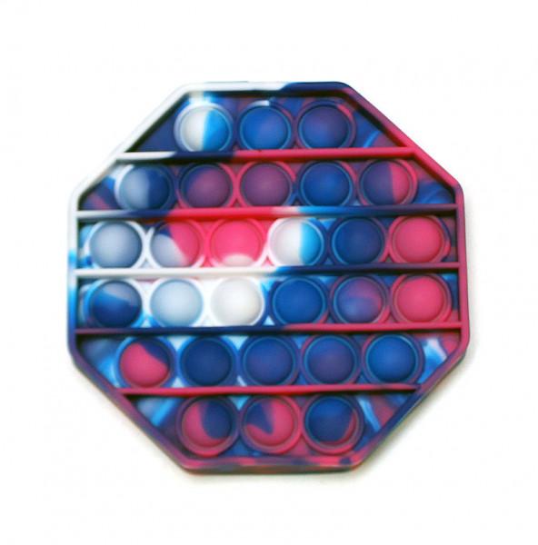 Push Pop Bubble - Blue-Marble Oktagon