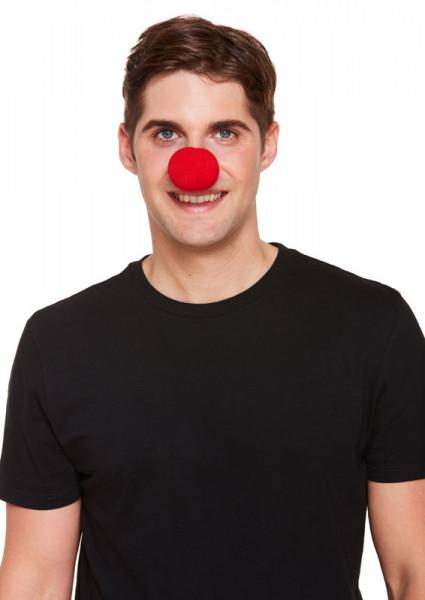 Clownsnase Schaumstoff - 5cm