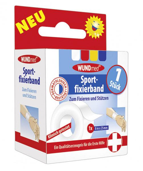 Sportfixierband, 8m x 2,5cm