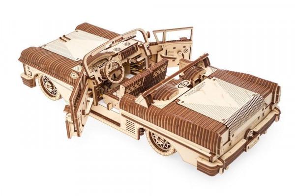 Ugears - mechanischer Holzbausatz - Traum-Cabrio VM-05