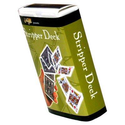 Royal Stripper Deck - Poker-Karten für Kartentricks rote Rückseite