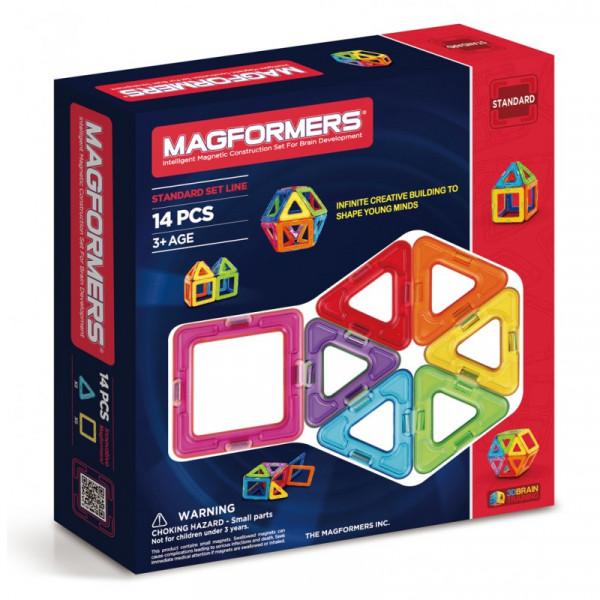 Magformers Einsteig-Set mit 14 Teilen