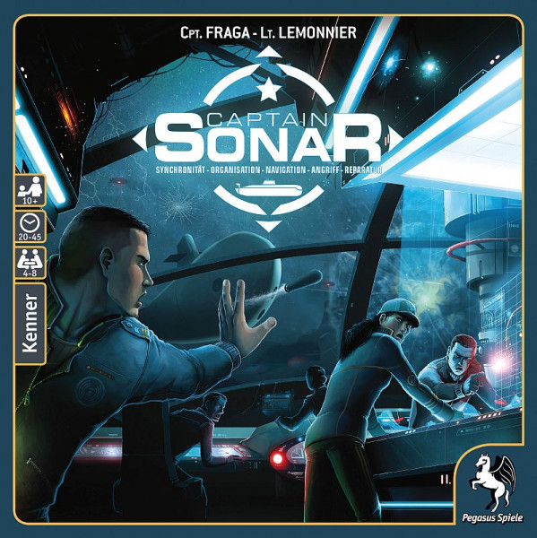Captain Sonar - Brettspiel