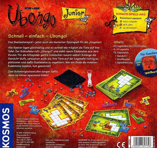 Ubongo Junior - das tierische Legespiel