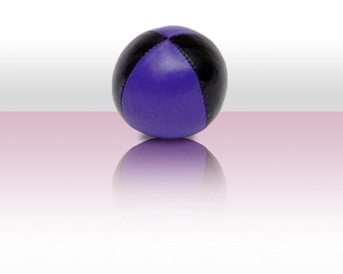 Jonglierball Beanbag 110g - violett mit schwarz