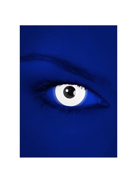 UV Weiss - Effekt Kontaktlinsen