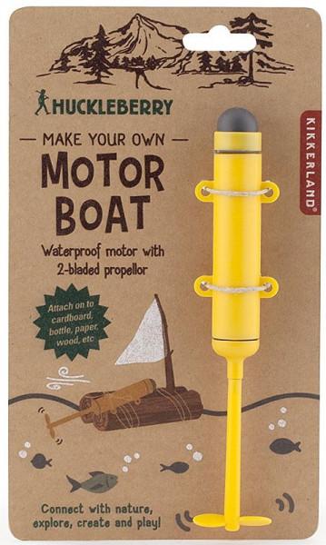 Motor für Papierboot - Huckleberry