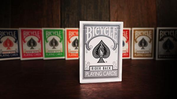 Bicycle Karten - Rider Back - Silber