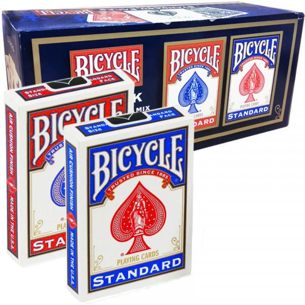 Bicycle Poker Standard Index Deck #808 - Set mit 12 Decks