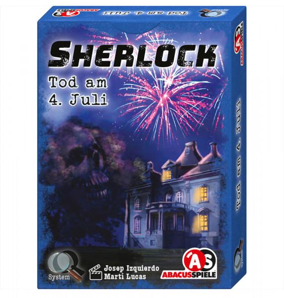 Sherlock - Tod am 4. Juli - Krimi-Spiel