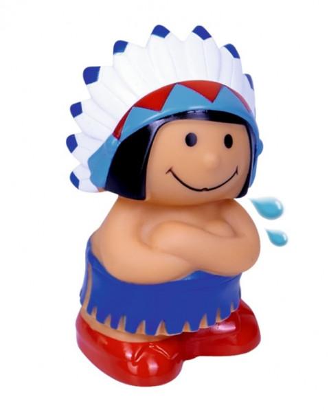 Indianer Spritzfigur