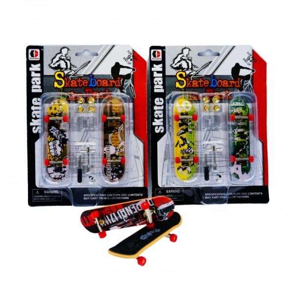 Finger-Skateboard - Mini Skateboard im Set