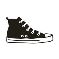 Ministempel Schuh