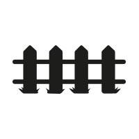 Ministempel Zaun