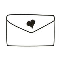 Ministempel Brief