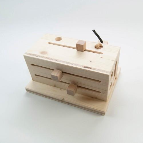 Hundespiel aus Holz - Mischpult