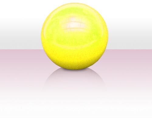 J9 Body Rolling Ball 125 mm - Fluo Gelb