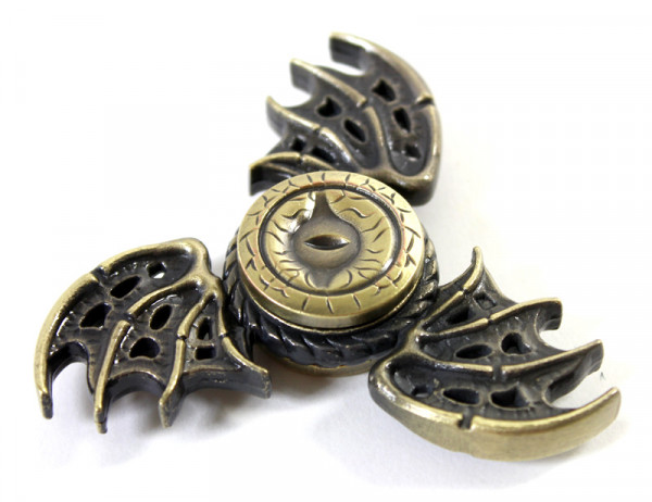 Fidget Kreisel Metall Dragon - Bronze