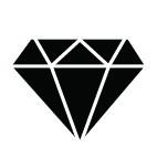Ministempel Diamant