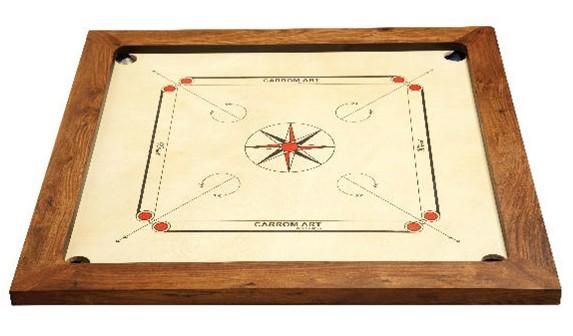 Carrom Spielfeld aus Holz - Winit Turnier